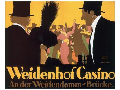 Weidenhof Casino-Ernst Lubbert-Art Print
