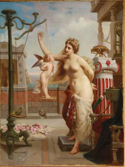 Weighing Cupid-Henri Pierre Picou-Giclee Print