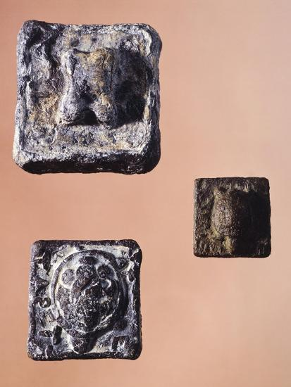 Weights from 841.5 Grams, 231 Grams and 127.5 Grams, from the Agora' of Athens, Greece--Giclee Print