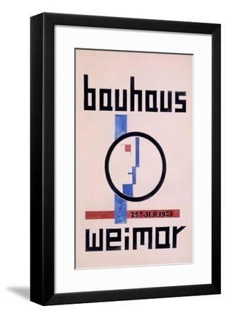 Weimar Bauhaus Museum--Framed Giclee Print