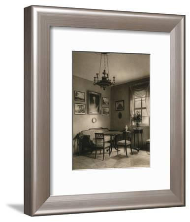 'Weimar. Interior of Tiefurt Castle', 1931-Kurt Hielscher-Framed Photographic Print