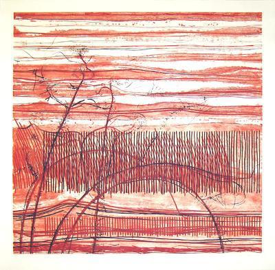 Weingarten auf dem Hügelland-Johannes Haider-Limited Edition