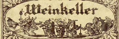 Weinkeller-Kate Ward Thacker-Giclee Print