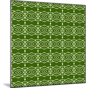 Green Native Pattern by weknow