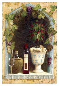 Olive Oil and Wine Arch I by Welby