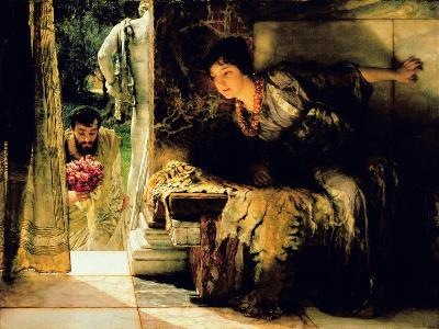 Welcome Footsteps, 1883-Sir Lawrence Alma-Tadema-Giclee Print