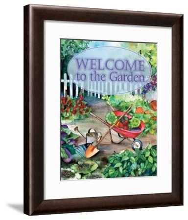 Welcome Garden-Kathleen Parr McKenna-Framed Art Print
