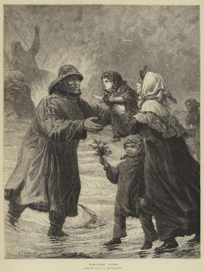 Welcome Home-Charles Joseph Staniland-Giclee Print