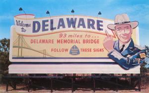 Welcome to Delaware Billboard