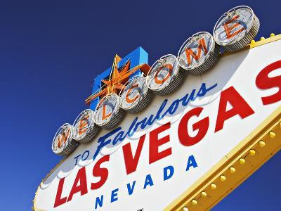 Welcome to Las Vegas Sign-William Manning-Photographic Print