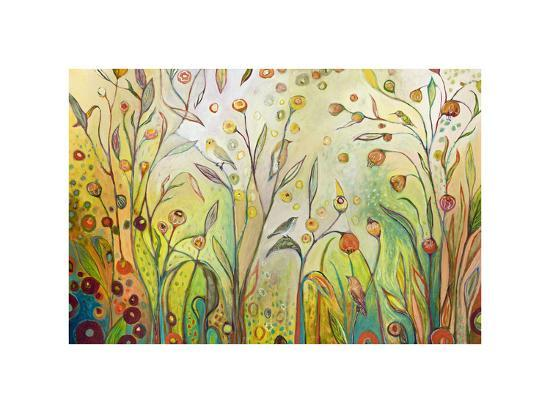 Welcome to My Garden-Jennifer Lommers-Giclee Print