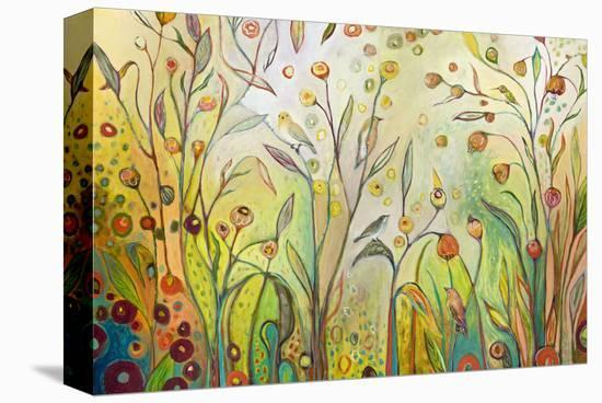 Welcome to My Garden-Jennifer Lommers-Stretched Canvas Print