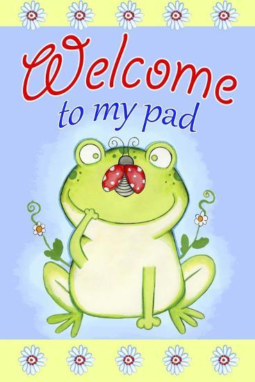 Welcome to My Pad-Valarie Wade-Giclee Print