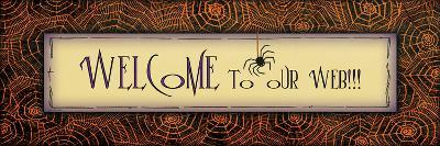 Welcome to Our Web-Jo Moulton-Art Print