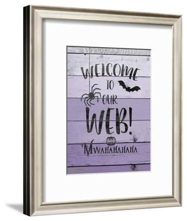 Welcome to Our Web-Jo Moulton-Framed Art Print