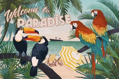 Welcome to Paradise I-Janelle Penner-Art Print