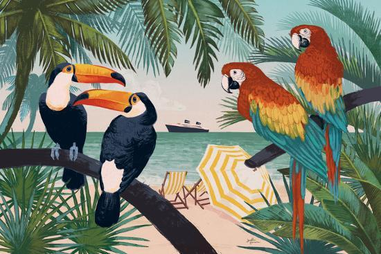 Welcome to Paradise VI-Janelle Penner-Art Print