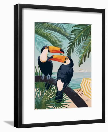 Welcome to Paradise VII-Janelle Penner-Framed Art Print
