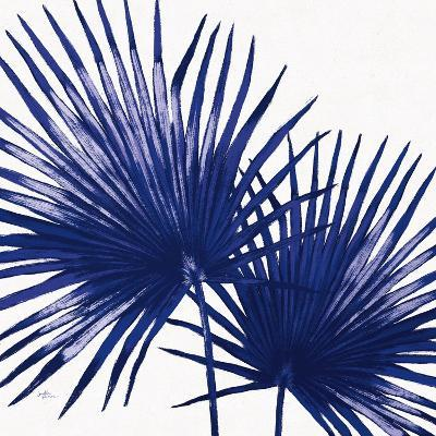Welcome to Paradise XII Indigo-Janelle Penner-Art Print