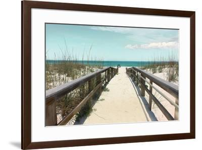 Welcome to Paradise--Framed Art Print