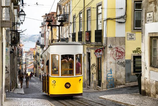 Welcome to Portugal Collection - Bica Tram in Lisbon-Philippe Hugonnard-Photographic Print