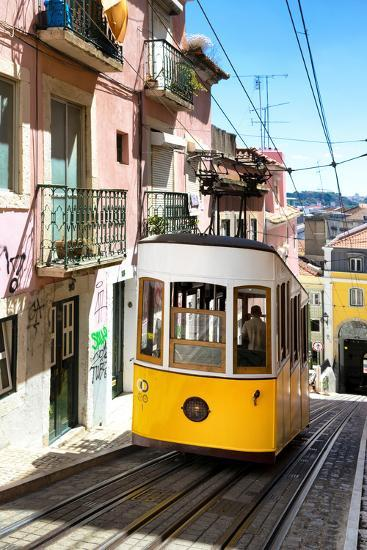 Welcome to Portugal Collection - Bica Tram Lisbon-Philippe Hugonnard-Photographic Print