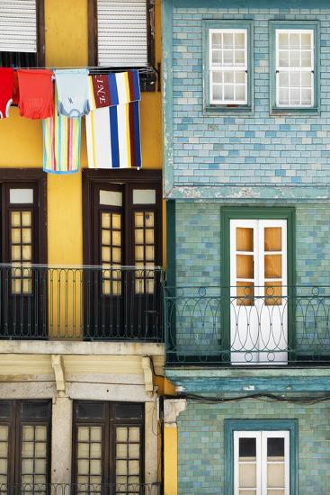 Welcome to Portugal Collection - Colorful Facades in Porto-Philippe Hugonnard-Photographic Print