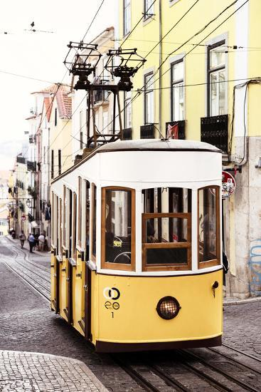 Welcome to Portugal Collection - Elevador da Bica - Lisbon Tram II-Philippe Hugonnard-Photographic Print