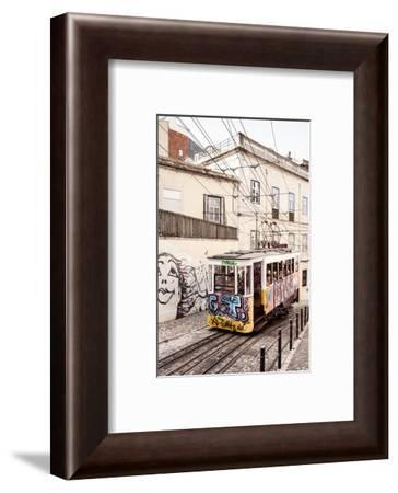 Welcome to Portugal Collection - Famous Gloria Funicular-Philippe Hugonnard-Framed Photographic Print