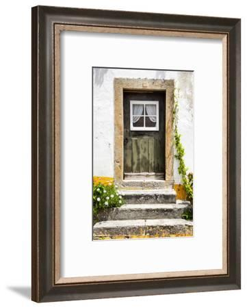 Welcome to Portugal Collection - Little Door, Big House-Philippe Hugonnard-Framed Photographic Print