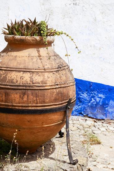 Welcome to Portugal Collection - Old Terracotta Jar-Philippe Hugonnard-Photographic Print