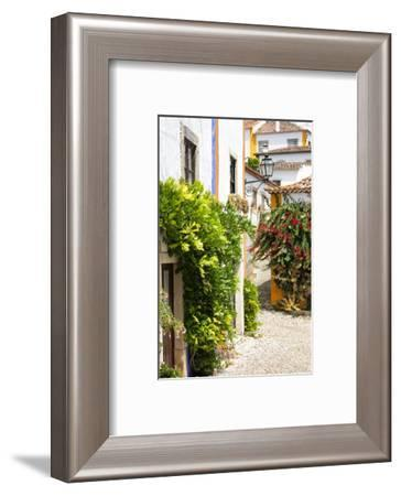 Welcome to Portugal Collection - Old Town of Obidos II-Philippe Hugonnard-Framed Photographic Print