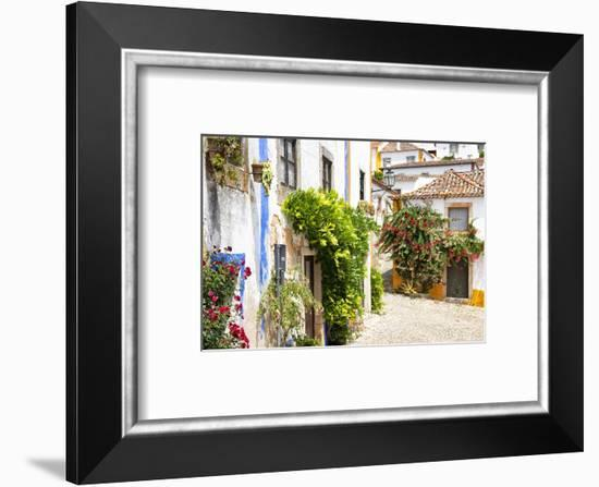 Welcome to Portugal Collection - Old Town of Obidos-Philippe Hugonnard-Framed Photographic Print