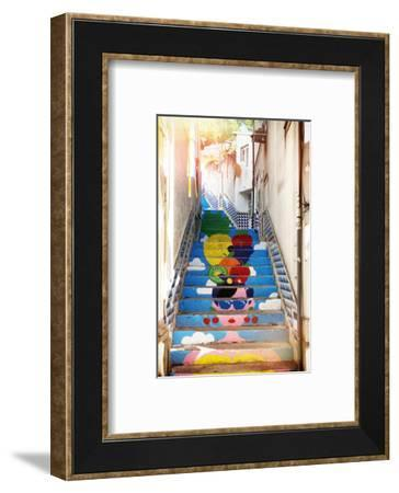 Welcome to Portugal Collection - Tropical Staircase-Philippe Hugonnard-Framed Photographic Print