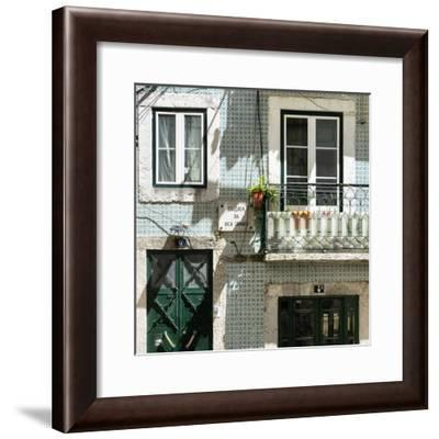 Welcome to Portugal Square Collection - Facade Bica Grande-Philippe Hugonnard-Framed Photographic Print