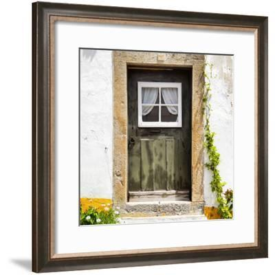 Welcome to Portugal Square Collection - Little Door, Big House-Philippe Hugonnard-Framed Photographic Print