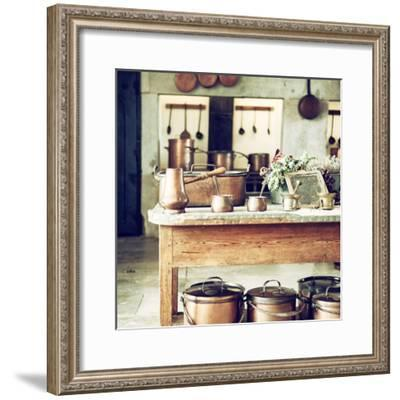 Welcome to Portugal Square Collection - Old Portuguese Kitchen II-Philippe Hugonnard-Framed Photographic Print