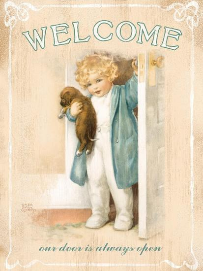 Welcome-Bessie Pease Gutmann-Giclee Print