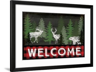 Welcome-Jennifer Pugh-Framed Art Print
