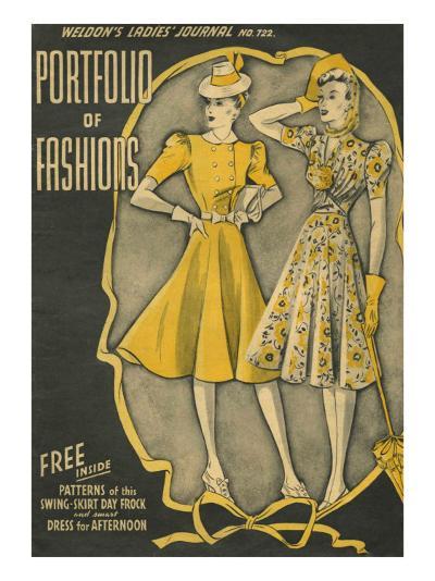 Weldon's Ladies Journal, Magazine Cover, UK, 1940--Giclee Print