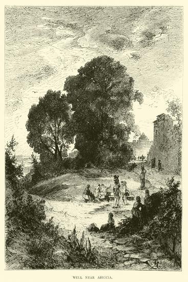 Well Near Ariccia--Giclee Print