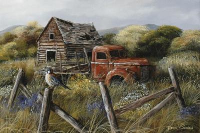 Well Worn Perch-Trevor V. Swanson-Giclee Print