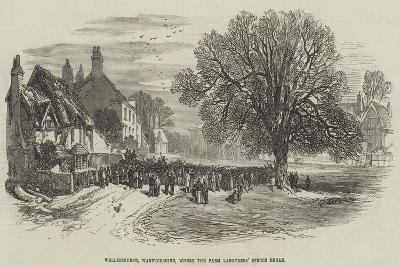 Wellesbourne, Warwickshire, Where the Farm Labourers' Strike Began--Giclee Print