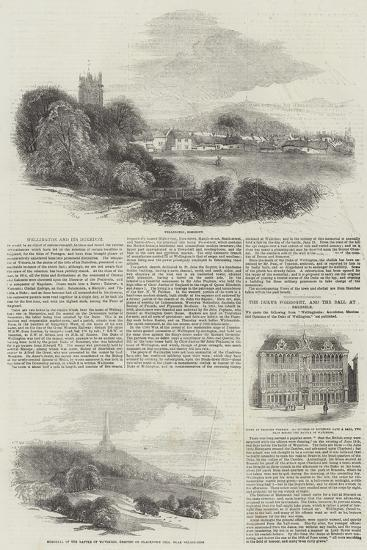Wellington and its Dukedom-Samuel Read-Giclee Print
