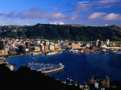 Wellington Harbour, Wellington, Wellington, New Zealand-David Wall-Photographic Print