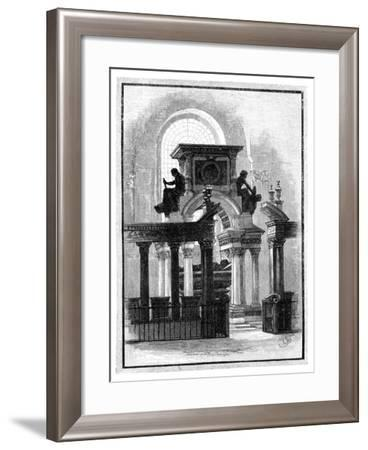 Wellington Monument, St Paul's Cathedral, London, C1888--Framed Giclee Print