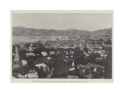 Wellington, New Zealand, Where the Duke of Cornwall and York Arrives on 18 June--Giclee Print
