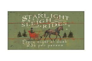 Holiday Signs II Panel by Wellington Studio