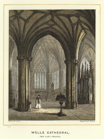 Wells Cathedral, the Lady Chapel--Giclee Print