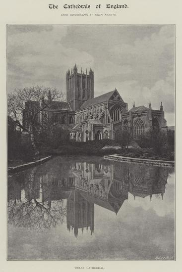 Wells Cathedral--Giclee Print